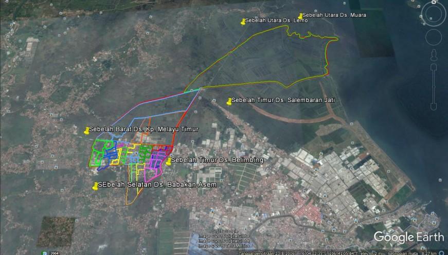 Peta Wilayah   Web Terpadu Kabupaten Tangerang