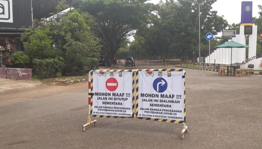 Pintu Masuk Kawasan Puspemkab Tangerang Ditutup 24 Jam Hari Sabtu Dan Minggu Berita Kabupaten Tangerang