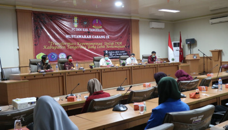 Sekda Hadiri Muscab IX Ikatan Mahasiswa Muhammadiyah Kabupaten Tangerang