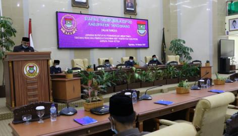 Bupati Tangerang Sampaikan Jawaban Rencana Pemindahtanganan Barang Milik Daerah