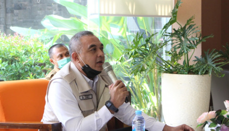 Bupati Tangerang Jadi Narasumber pada Webinar Nasional HUT Partai Golkar Ke-56