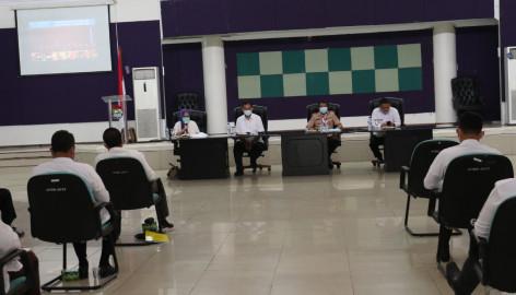 Sekda Pimpin Rapat Evaluasi Penanganan COVID-19 di Kabupaten Tangerang