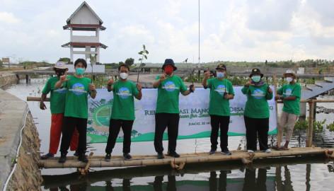 Pltu Lontar Tanam 5000 Mangrove Di Ketapang Mauk