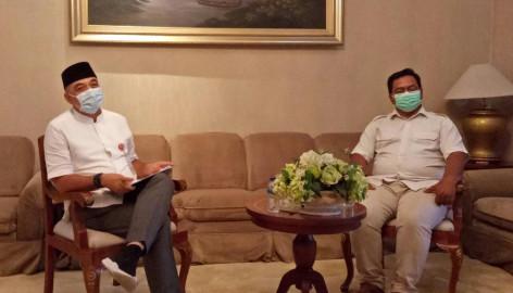 Bupati Tangerang Jabarkan 15 Program Unggulan Saat Diwawancarai Youtuber Kang Ay.