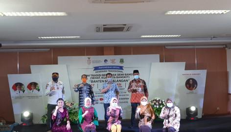 Diskominfo Kabupaten Tangerang Hadiri Sosialisasi COVID-19 Lewat Pertunjukan Seni di Banten