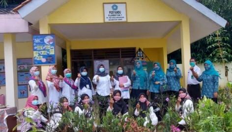 Pembinaan Posyandu Kabupaten Tangerang Di Posyandu Flamboyan I Desa Mekarsari Jambe
