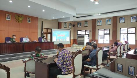 Tim Pakar Satgas Pusat COVID-19 Kunjungi Kab. Tangerang dan Berikan Apresiasi