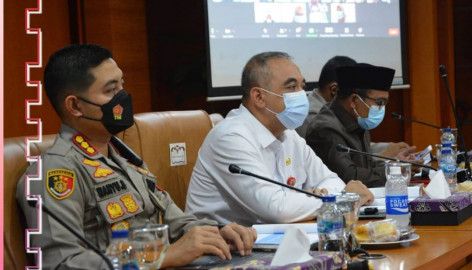Pilkades Serentak Di 77 Desa Kab. Tangerang Resmi Ditunda, Dampak Meningkatnya Kasus Covid-19