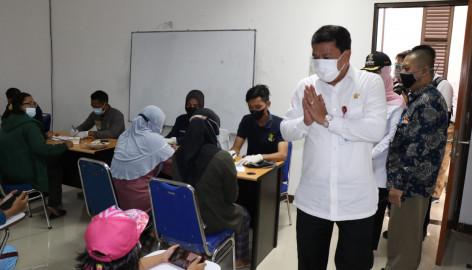 Kampus UNTARA, Bantu Pemkab Tangerang Gelar Sentra Vaksinasi COVID-19