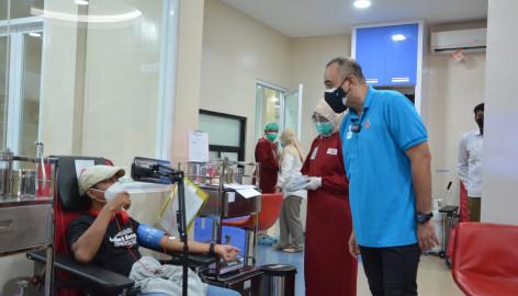 Hut Ke-76, Pmi Luncurkan Inovasi Layanan Darah Berbasis Digital