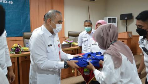 Bupati Tangerang Membuka Bintek Relawan Penanganan COVID-19 Kabupaten Tangerang