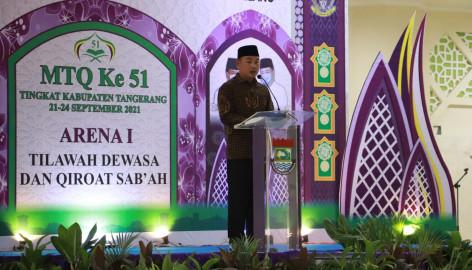 Resmi Ditutup, Inilah Juara Umum Mtq Ke-51 Tingkat Kabupaten Tangerang