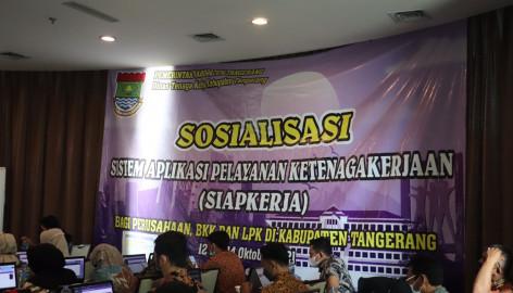 Beri Masyarakat Kemudahan di Era Digital, Disnaker Kabupaten Tangerang Perkenalkan Aplikasi SiapKerja