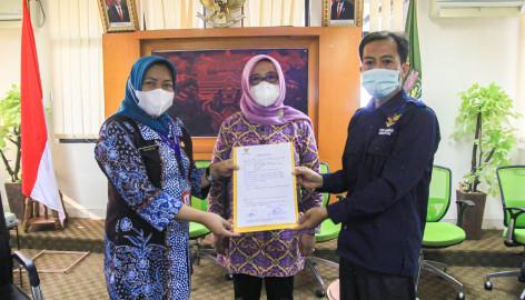 Rampungkan Tahapan Monev 2021, Pemkab Tangerang Dikunjungi Komisi Informasi Provinsi Banten