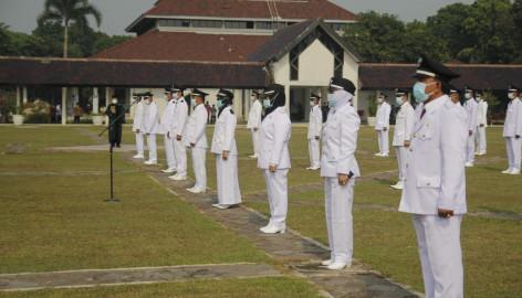 Sebanyak 77 Kades di Kabupaten Tangerang Dilantik, Berikut Daftarnya