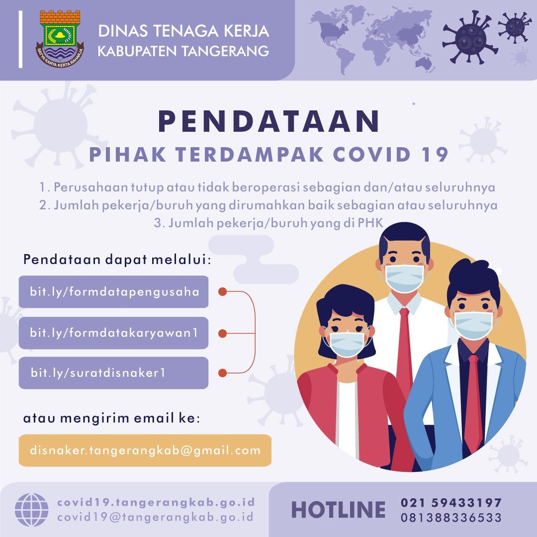 Disnaker Kabupaten Tangerang Data Karyawan Phk Dampak Covid 19 Berita Kabupaten Tangerang