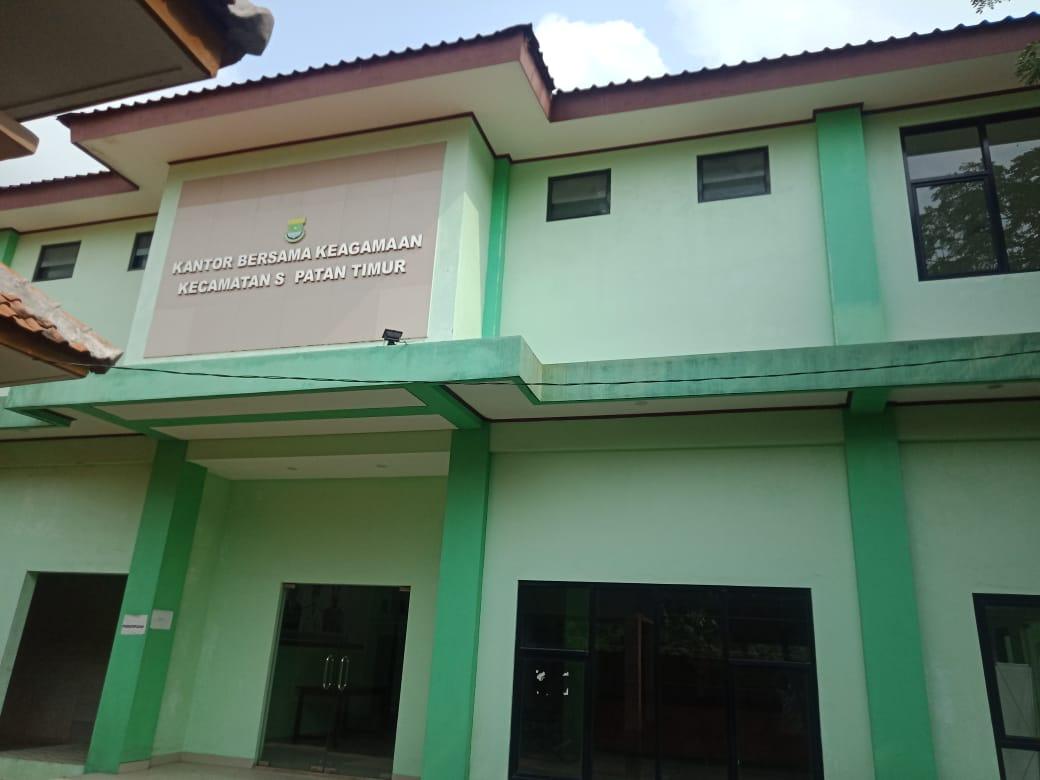 Kantor Bersama Keagamaan Kecamatan Sepatan Timur
